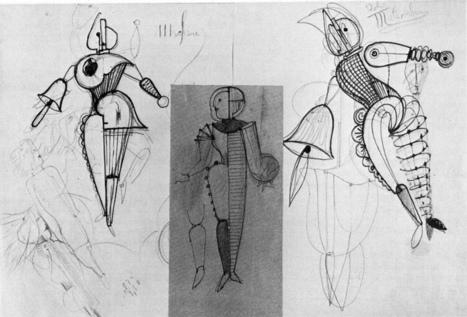 La Bauhaus y la danza progresiva - Gamma   Arte   Studio   inspirArte   Scoop.it