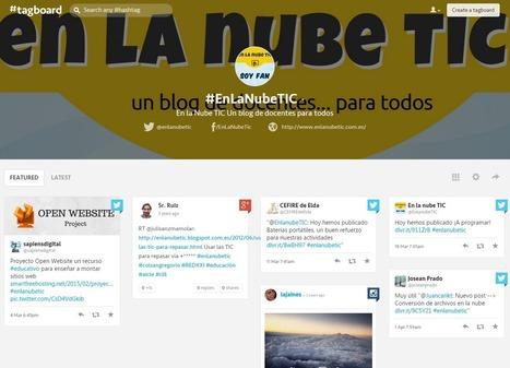 En la nube TIC: Tagboard, o cómo monitorizar hashtags | Las TIC en el aula de ELE | Scoop.it