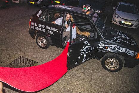 Converse transforme des Fiat Panda en taxis pour une soirée mémorable   streetmarketing   Scoop.it