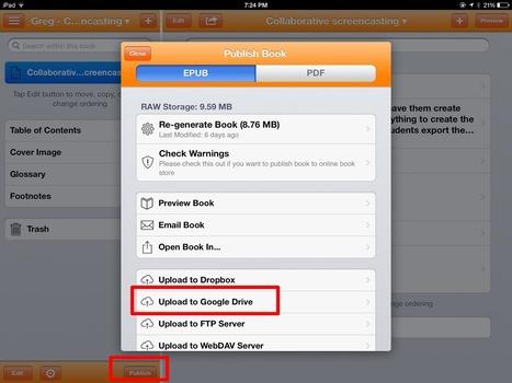 The History 2.0 Classroom: Class eBook X iPad X Creative Book Builder | iPad classroom | Scoop.it