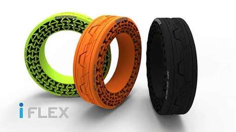 Hankook's high-speed tests inch airless tires closer to production | Knowmads, Infocology of the future | Scoop.it