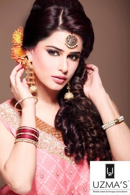 Latest Bridal Hairstyles in Pakistan 2013   Beauty Tips for Girls   Scoop.it