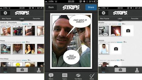 Strips, la tua storia a fumetti sull'iPhone | DailyComics | Scoop.it