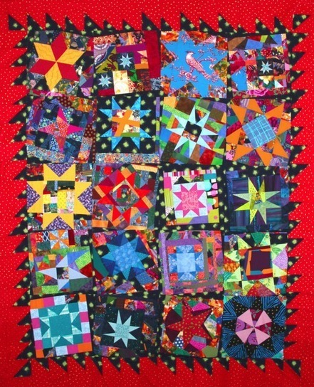 Bumble Beans Inc.: Blogger's Quilt Festival | She Who Dies With The Most Fabric Wins | Scoop.it