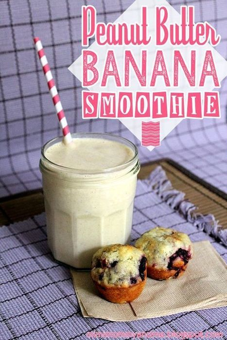 Peanut Butter Banana Smoothie   Mobile Tech For Business   Scoop.it