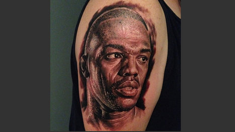 Fan gets a tattoo of UFC champ Jon Jones' face on his arm - FOXSports.com | Do Americans value sports more than religion | Scoop.it
