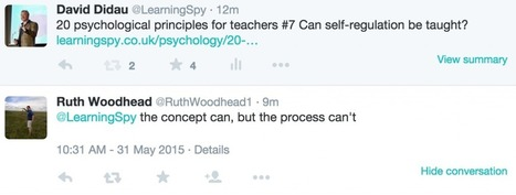Can self-regulation be taught? | Ripples | Scoop.it