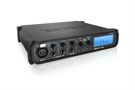 Mobile Recording With Wi-Fi Control, MOTU ships the UltraLite AVB 18-in / 18-out audio interface | Music: Equipment, Production and News. | Scoop.it