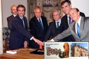 ESPAGNE : El Museo Provincial ya tiene su sello (le Musée de Guadalajara émet un timbre avec un gobelet campaniforme...) | World Neolithic | Scoop.it