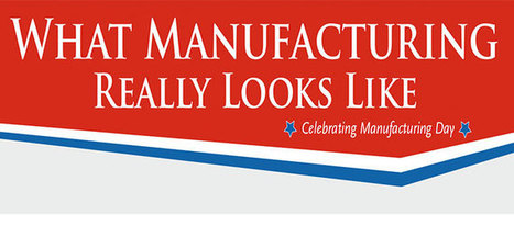INFOGRAPHIC – What Manufacturing Really Looks Like: Celebrating Manufacturing Day | Manufacturing In the USA Today | Scoop.it