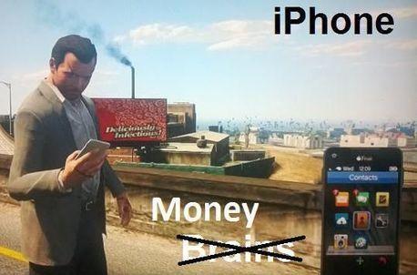 iPhone, Android And Windows Phone Users As Portrayed By GTA V   Android Application   Scoop.it