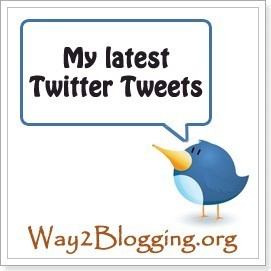 Awesome New Latest Tweets Twitter Widget For Blogger / Blogspot ~ Blogger Widgets | Tips | Trick | Hacks | Help! ~ Way2Blogging | Blogger Help | Scoop.it