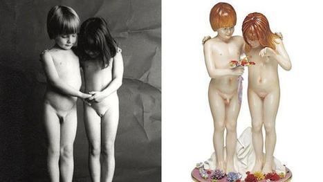 Koons : sa sculpture Naked serait le plagiat d'une photo d'art - Le Figaro   Reg'Art Metis   Scoop.it
