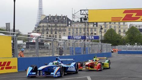 Formule E: les bolides électriques à Paris, pour le meilleur et pour le pire - France - RFI | Veille & Culture numérique | Scoop.it