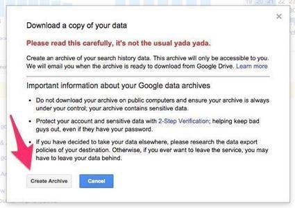 How to Delete Everything That Google Knows About You | digitalcuration | Scoop.it
