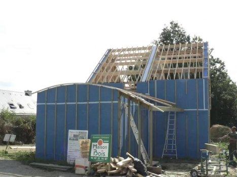 [vidéo] Carnet de chantier : Construction d'une... | Ma maison | Scoop.it