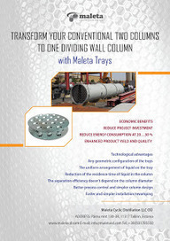 Fractional Distillation Column: Renovation your Conventional Two-column System to One Dividing Wall Column | Distillation Column | Scoop.it