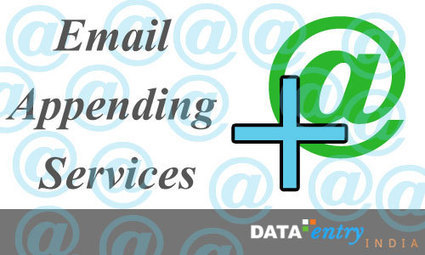 The Significance of Email Appending And List Building Services | Data-Entry-India | Catalog Processing | Photo Editing | Data Entry Services and other related solutions | Scoop.it