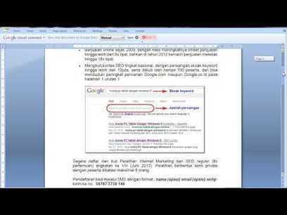 Pelatihan Internet Marketing dan SEO - Mudah Menuju Halaman Satu Google | Gloucester SEO | Scoop.it