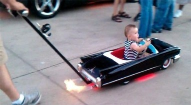The Baby Stroller That Shoots Flames | e-Expeditions | e-Expeditions News | Scoop.it