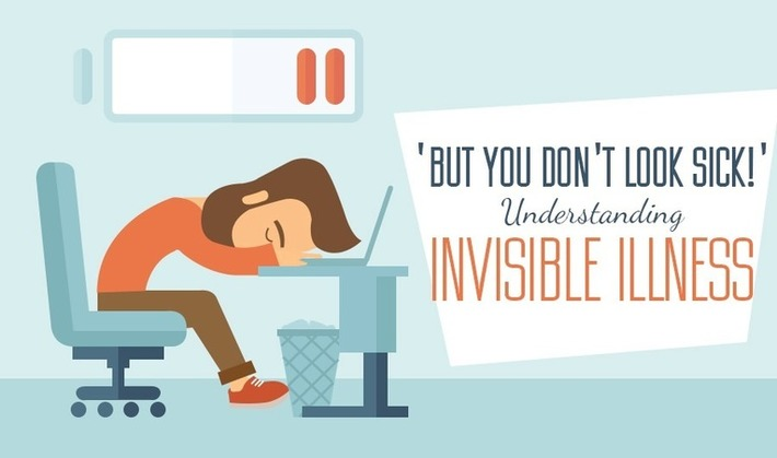 Infographic: 'But You Don't Look Sick!' - Understanding Invisible Illness | PATIENT EMPOWERMENT & E-PATIENT | Scoop.it