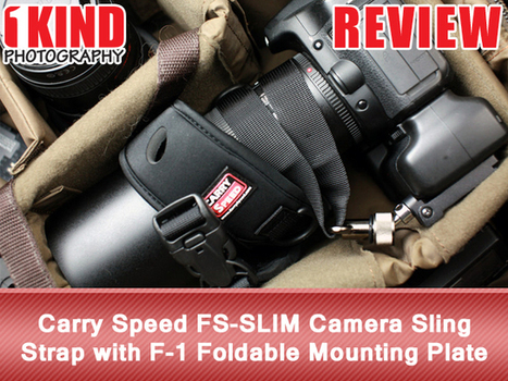 Review: Carry Speed FS-SLIM Camera Sling Strap with F-1 Foldable Mounting Plate | Tripods, support, flters etc. | Scoop.it