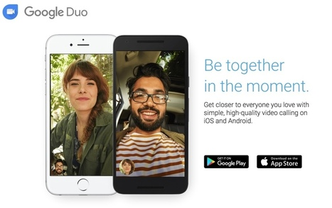 Google Duo. Application de video chat mobile - Les Outils Google | Les outils du Web 2.0 | Scoop.it