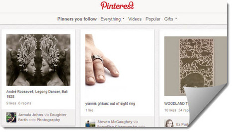 Pinterest permite que los sitios web bloqueen sus imágenes para no ser compartidas   oliviermarchand.es   Scoop.it