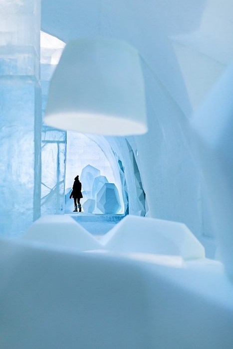 "Ice Art Hotel - spectacular ICEHOTEL in northern Sweden | ""What's New in The World of Old"" 
