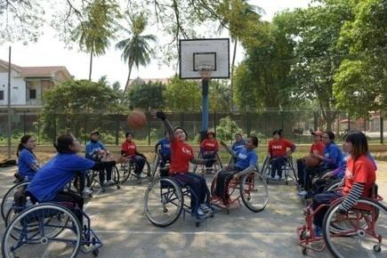 Au Cambodge, des basketteuses handicapées rêvent de changer les mentalités | Le Cambodge, autrement | Scoop.it