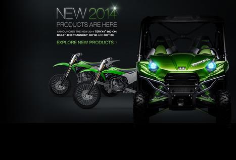 Kawasaki Motorcycles, ATV, Jet Ski Watercraft, Side x Side | MOTOMANIA | Scoop.it