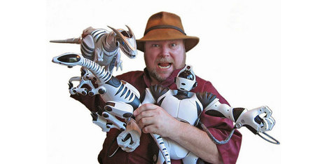Mark Tilden : l'homme qui sort des robots de son chapeau | Une nouvelle civilisation de Robots | Scoop.it