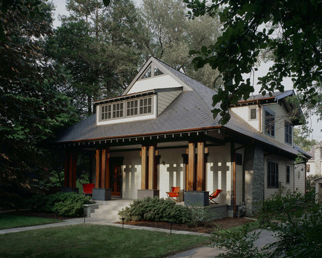 craftsman teahouse - craftsman - porch - dc metro - Gardner Mohr Architects LLC | Craftsman Architecture | Scoop.it