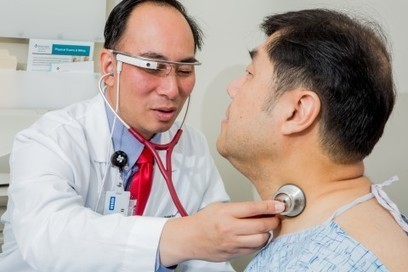 Coming to a doctor's office near you: Live-streaming your exam with Google Glass | STEM Connections | Scoop.it