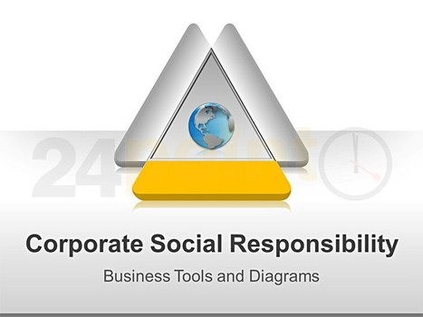 Corporate Social Responsibility - Editable in PPT | CBC | Scoop.it