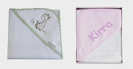 Named Personalised Gifts: Make Your Kids Feel Special With Online Personalized Hooded Towels | Named Personalised Baby & Kids Gift | Scoop.it