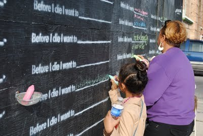 Jane Fulton Alt: Candy Chang's Before I Die Project in New Orleans | Photography Now | Scoop.it