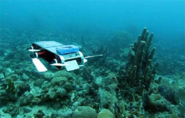 [IROS 2012] Robotic Airplane, Boat, and Submarine Team Up to Monitor Coral Reefs - IEEE Spectrum | The Robot Times | Scoop.it