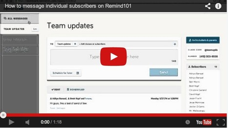 All That Teachers Need to Know about Remind (101) | Technology in Education | Scoop.it