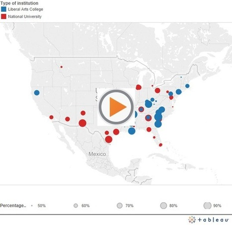 Map: See the Most Economically Diverse Colleges in the Country | MyAdvisorSays | Scoop.it