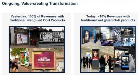 Numérisation des parcs, programmatique, intégration avec le mobile – les annonces des acteurs de l'OOH lors de leurs présentations financières Q1 | DOOH | Scoop.it