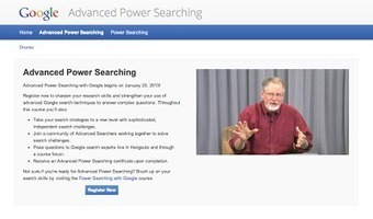 Advanced Power Searching with Google -- Registration Opens Today - Inside Search   dark side of the MOOC - language education   Scoop.it