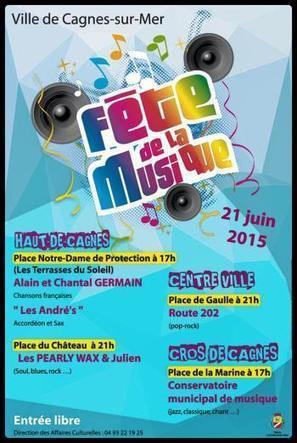 Fête de la Musique 2015 on the French Riviera | Family friendly French Riviera | Scoop.it