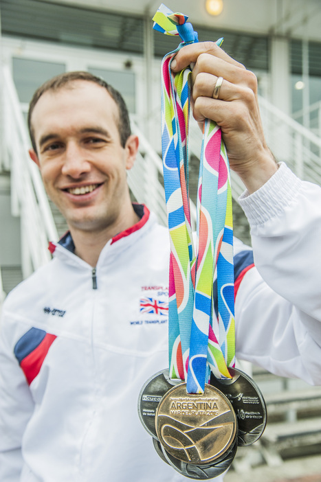 Chartered accountant wins six medals at World Transplant Games | Transplant Sport | Scoop.it
