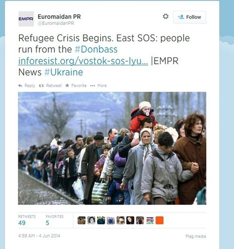Kiev's Fake Picture Scam | Visual Culture and Communication | Scoop.it