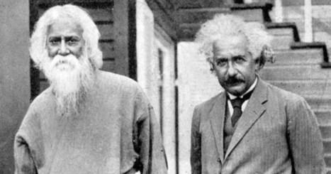 When EINSTEIN Met TAGORE: A REMARKABLE Meeting of Minds on the Edge of Science and Spirituality | Le BONHEUR comme indice d'épanouissement social et économique. | Scoop.it