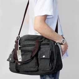 Messenger Bag vs Briefcase - What's the Difference? | The Modern Man Bags | Best Messenger Bags For Men | Scoop.it