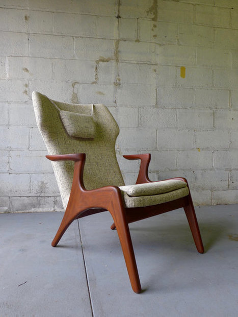 mid century Lounge Chair | whats been spotted on etsy today? | Scoop.it