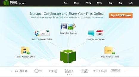 @medialightbox - Online file storage & sharing | Emerging Digital Workflows [ @zbutcher ] | Scoop.it
