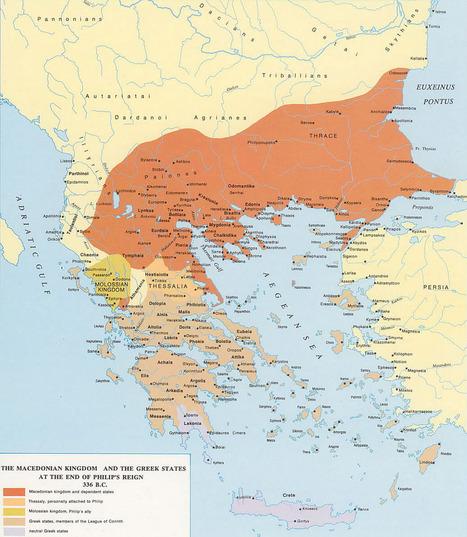 Geografía e Historia de Macedonia ~ La Historia con Mapas | Mitología | Scoop.it